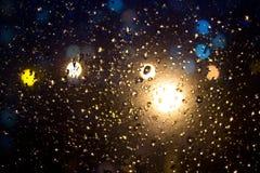 падает стекло Стоковое фото RF