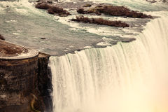 падает niagara вид с воздуха Стоковая Фотография