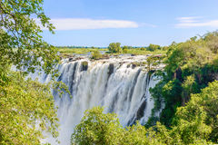 падает victoria Зимбабве стоковая фотография