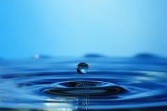 Падать в капельки воды Стоковое Изображение RF