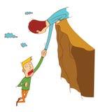 Падать скалы Стоковые Фото