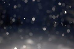 Падать снега нерезкости Стоковое Фото
