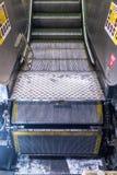Падать с эскалатора Стоковые Изображения RF