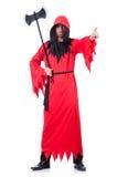 Палач в красном костюме Стоковые Фото