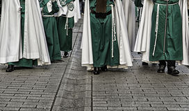 Палач шествия пасхи Стоковое Фото