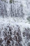 Падая вода, деталь водопада в Angel Falls, Венесуэле Стоковое Фото