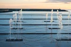 падая вода Стоковая Фотография