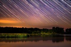 Падая небо Стоковые Фотографии RF