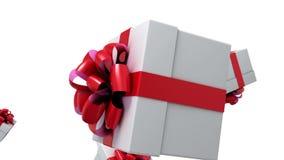 Падая подарки иллюстрация вектора