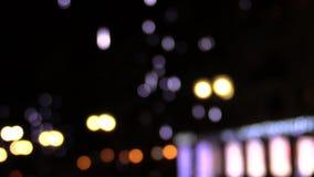 Падая света частицы акции видеоматериалы