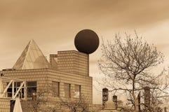 Падая шарик стоковое фото