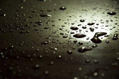Падение воды и металла стоковые фотографии rf