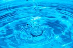 Падение воды кроны Стоковая Фотография