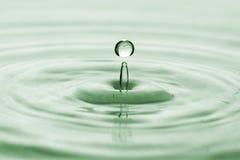 Падение воды круга Стоковые Изображения RF