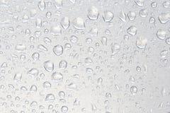 Падение воды на прокатанной пене Стоковая Фотография