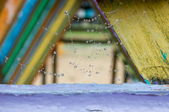 Падение воды на сети. Стоковое Изображение RF