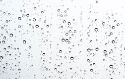 Падение воды на стекле Стоковое Фото