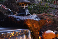 Падение воды сада Стоковое Фото