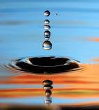 Падение воды Стоковые Изображения RF