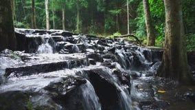 Падение воды lan Khao sam сток-видео