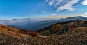 Падение в гору Rhodope, Болгарию стоковые изображения