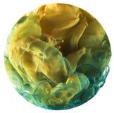 Падение цвета Стоковое Изображение