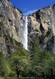 Падение Bridalvail, национальный парк Yosemite, Калифорния Стоковое Фото