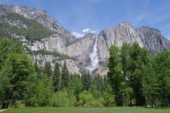 Падение Horsetail, национальный парк Yosemite, Калифорния стоковая фотография rf