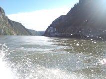 Падения воды в реке Стоковые Фотографии RF