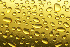 Падения воды золота Стоковое Фото