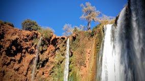 Падения воды Ouzoud стоковые фотографии rf