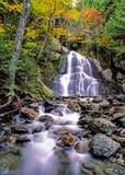 Падения Глена мха, Granville, Вермонт Стоковые Изображения RF