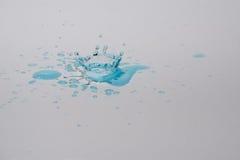 Падения и выплеск воды Стоковое Фото