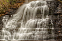 Падения каскадов, Giles County, Вирджиния, США Стоковая Фотография