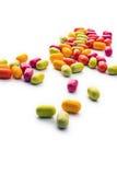 Падения конфеты Стоковая Фотография