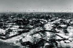 Падения на окне Стоковые Фото