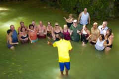 Падения реки Dunn, ямайка, карибская Стоковое Фото