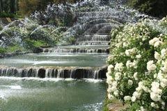 Падения садовничают в озере Eur, Риме Стоковая Фотография