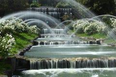 Падения садовничают в озере Eur, Риме Стоковое фото RF