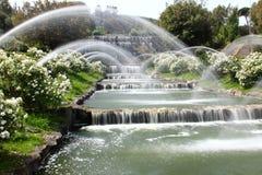 Падения садовничают в озере Eur, Риме Стоковые Изображения