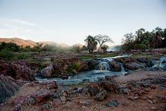 Падения Epupa, Намибия, Африка Стоковая Фотография RF