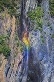 Падения FallsRainbow радуги Стоковые Изображения