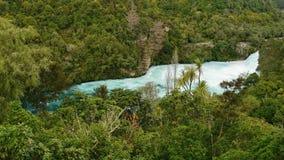 Падения Huka водопада Стоковое фото RF