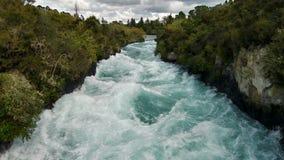 Падения Huka водопада Стоковая Фотография
