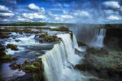 Падения Iguacu, Бразилия, Южная Америка Стоковые Изображения