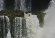 Падения Iguasu, Аргентина Бразилия Стоковое фото RF
