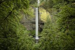 Падения Latourell, ущелье Рекы Колумбия, Орегон Стоковое Изображение