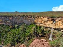 Падения Nieuwoudtville, северная накидка, Южная Африка стоковые изображения