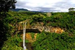 Падения Tamarin, остров Маврикия стоковые изображения rf