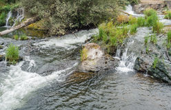 Падения Tumwater и река 2 Стоковое Фото